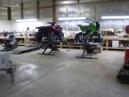 Kawasaki & Arctic Cat repair facility